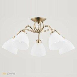 Люстры и потолочные светильники - Потолочная люстра Alfa Amarillo Patyna 23755, 0