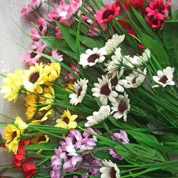 Цветы, букеты, композиции - Букет искусственных ромашек, 0