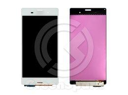 Дисплеи и тачскрины - Дисплей для Sony Xperia Z3 / Z3 Dual  +тач белый, 0