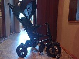 Трехколесные велосипеды - Складной трëхколëсный велосипед Qplay черный. , 0