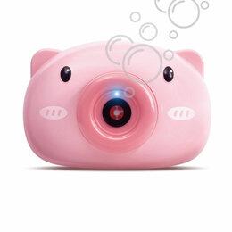 Мыльные пузыри - Машинка для генерирования мыльных пузырей Bubble Camera Свинка 999762, 0