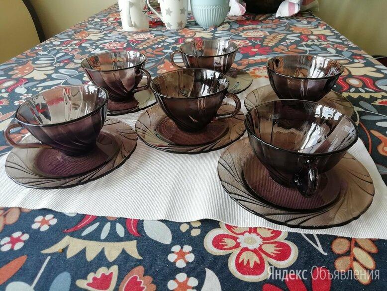 Чайный набор Vereco Франция на 6 персон по цене 700₽ - Сервизы и наборы, фото 0