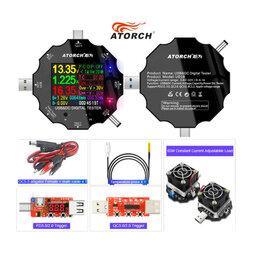 Измерительные инструменты и приборы - Тестер с дисплеем, нагрузка USB, триггер новые, 0