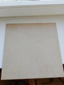 Плитка из керамогранита - Плитка напольная бежевая, 0