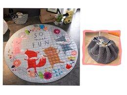 Развивающие коврики - Новый коврик-сумка 150см (танец лисички), 0