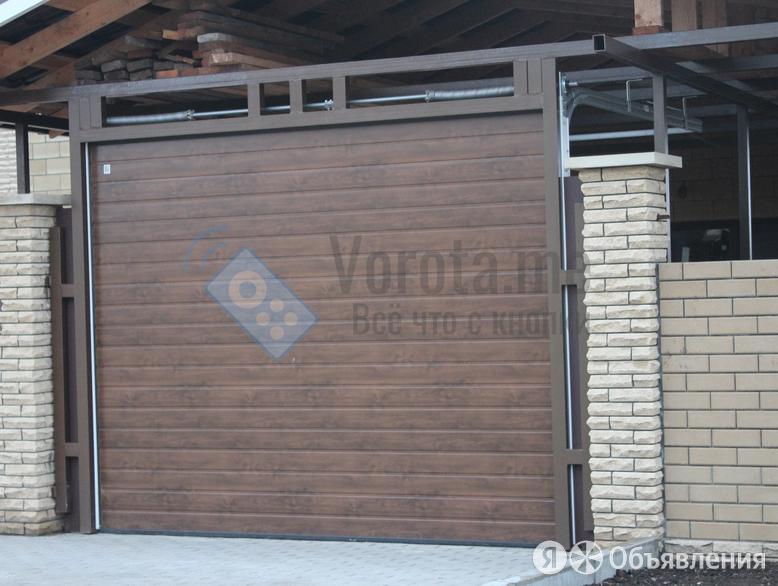 """Ворота """"Микроволна"""" секционные под навес по цене 5402₽ - Заборы, ворота и элементы, фото 0"""