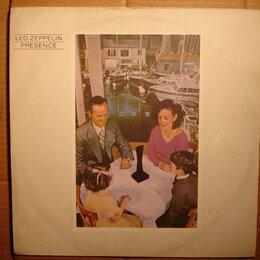 Виниловые пластинки - Led Zeppelin – Presence, 0