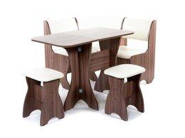 Столы и столики - Кухонный набор Тюльпан-мини ясень темный/милк, 0