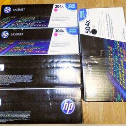 Картриджи - Новые картриджи HP 304A cc533a 122A Q3963A 504X, 0