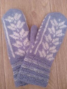 Перчатки и варежки - Варежки для девочки, 0
