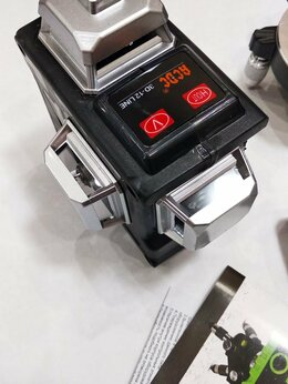 Измерительные инструменты и приборы - Лазерный уровень 12 лучей 360* Яркий зеленый луч, 0