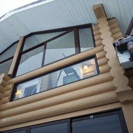 Окна - Окно алюминиевое для балкона, 0