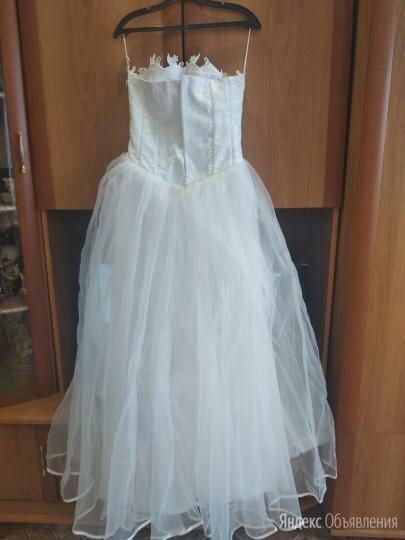 платье свадебное 44-46 по цене 500₽ - Платья, фото 0