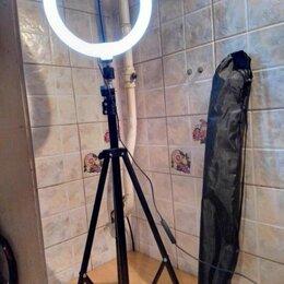 Осветительное оборудование - Светодиодная Кольцевая лампа 26см, 0