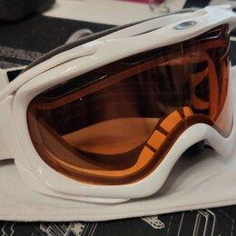 Защита и экипировка - Маска для сноуборда oakley elevate Polished White, 0