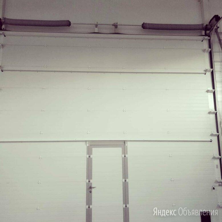 Ворота секционные подъемные по цене 48086₽ - Заборы, ворота и элементы, фото 0