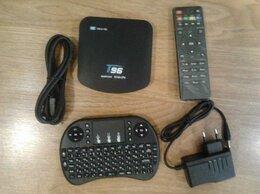 ТВ-приставки и медиаплееры - Смарт тв приставка Т96К с клавиатурой, 0