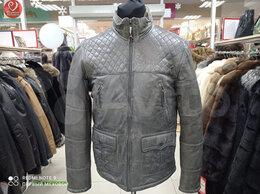 Куртки - Мужская куртка из натуральной кожи новая, 0