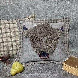 Подушки - Декоративные подушки - символ 2021 года Быка, 0