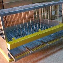 Клетки и домики - Клетка для кур с яйцесборником и выдвижным поддоном, 0