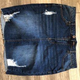 Юбки - Джинсовая юбка из США высокая талия , 0