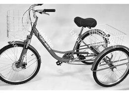 Велосипеды - Велосипед трехколесный 24'' IZH Фермер NEW 6…, 0