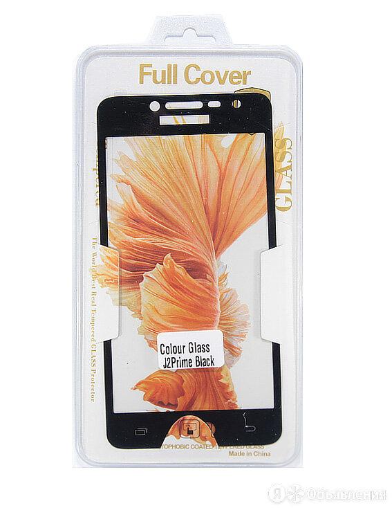 Защитное стекло для Samsung G532F J2 Prime FULL FLAT коробка черный по цене 100₽ - Защитные пленки и стекла, фото 0