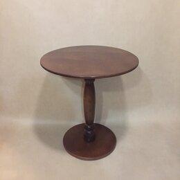 Столы и столики - Столик круглый стол дерево, 0
