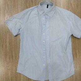 Рубашки - Рубашка сорочка короткий рукав мужская benetton, 0