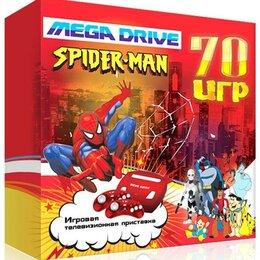 Ретро-консоли и электронные игры - Игровая приставка 16 bit Mega Drive Spider Man…, 0