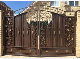 Заборы, ворота и элементы - Кованные заборы калитки навесы и т.д, во Владимире, 0