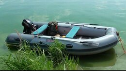"Моторные лодки и катера - лодка ПВХ ""Косатка 385"" с мотором ""Меркурий 9.9…, 0"