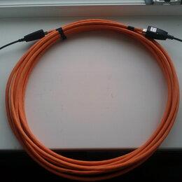 Кабели и разъемы - USB 2.0 Удлинитель 15 м по медной витой паре cat6A, 0