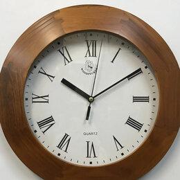 Часы настенные - НАСТЕННЫЕ ЧАСЫ WOODPECKER В ДЕРЕВЯННОМ КОРПУСЕ…, 0