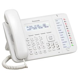 Системные телефоны - Телефон IP Panasonic KX-NT556RU белый, 0
