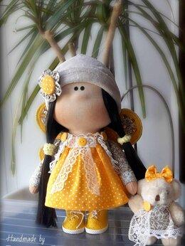 Куклы и пупсы - Интерьерная кукла Бабочка., 0