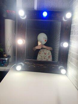 Зеркала - Зеркало с лампочками,гримерное, 0