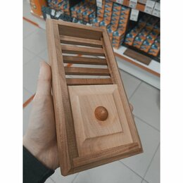 Вентиляционные решётки - Задвижка вентиляционная деревянная 330*120 Липа Термо, 0
