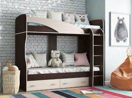 Кроватки - АП 56 Мийа А Кровать 2х яр. (Венге/дуб), 0