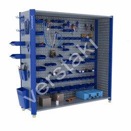 Стеллажи и этажерки - Стеллаж торговый металлический KronVuz CT H2…, 0