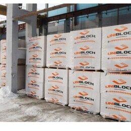 Строительные блоки - Блок газобетоный uniblock D-500, 0