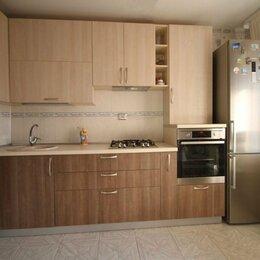Мебель для кухни - Прямая встроенная кухня ЛДСП в хрущевку Анафора, 0