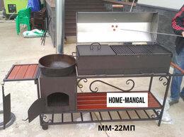 Грили, мангалы, коптильни - Мангал с печкой и крышей, 0