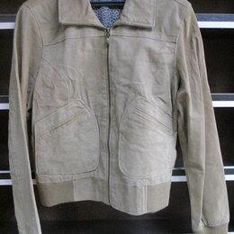 Куртки - Куртка натуральная замша. , 0