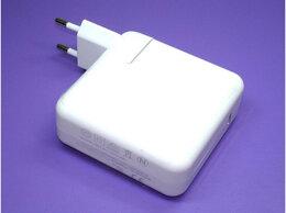 Блоки питания - Блок питания Apple A1718 61W USB Type-C 20.3V 3A…, 0