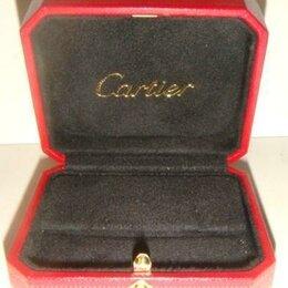 Подставки и держатели - Коробка для сережек или броши Cartier оригинал, 0