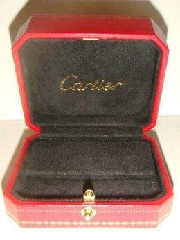 Подставки и держатели для украшений - Коробка для сережек или броши Cartier оригинал, 0