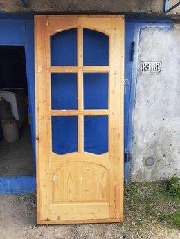 Готовые конструкции - Дверь деревянная с коробкой, 0