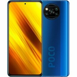 Мобильные телефоны - Смартфон Xiaomi Poco X3 NFC 6/64GB Cobalt Blue, 0