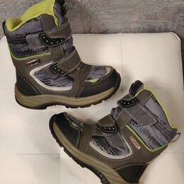 Ботинки - Ботинки/полусапоги зимние на мальчика Котофей Waterproof р.27 мембрана, 0